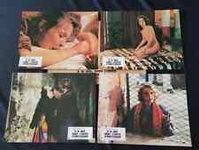 lot de 7 photos de cinéma du film: A 16 ANS, DANS L'ENFER D'AMSTERDAM de 1984