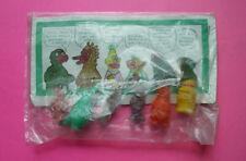Mexican vintage soft plastic Bootleg SESAME STREET 6 Characters original package