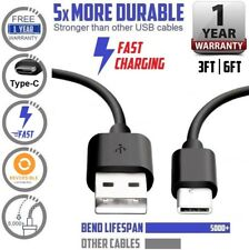 Samsung Galaxy Note 8 S8 Plus S8 USB-C Type C FAST Charging Sync & Charger Cable