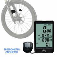 Multifonction Vélo Sans fil Ordinateur Odomètre Compteur de vitesse Cyclisme