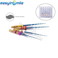 EASYINSMILE Dental Endo New X-TWO S Files Rotary Root Canal Treatment NITI Files