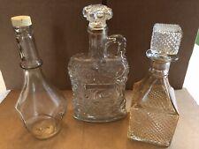 New listing Vintage Barware Decanters Bottles