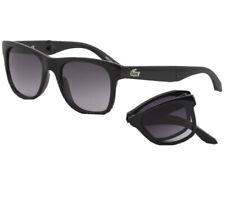Lacoste Foldable Sunglasses L778S Black Grey 002 Authentic New