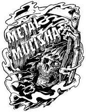 METAL MULISHA DECAL PAIR #20  Sticker, Truck Trailer Moto Car Window Wall Art