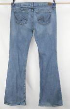 Women's X2 Denim Jeans Boot Cut Stretch Low Rise size 10 Long