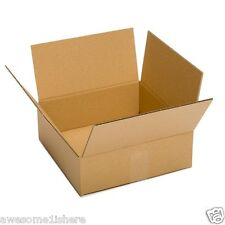 Cardboard Delivery Boxes LARGE 25 Pack 13x10x4 Packing Shipping Mailing Moving