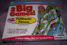 BRAND NEW CenterSolutions FUNtastic Fitness 2 Sided Game Mat Leveled Play Age 4+