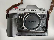 Fuji Fujifilm X-T3 Camera, Silver. 4m old, warranty, official case, batteries