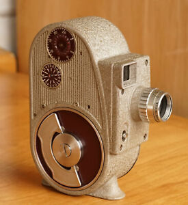 Vintage Bell Howell 134 Camera F2.5 8mm Movie Film Camera