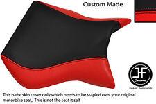 Vinilo negro y rojo Cagiva Mito 125 se adapta a Personalizado 95-07 frente cubierta de asiento solamente