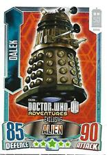 Dr Who Alien Attax 50th Anni Edition Dalek [bronze] Promo Card Topps - 2013