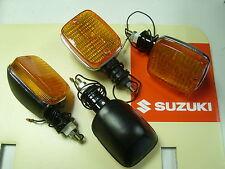 Brand New Set of 4 Indicator Winker Suzuki GS 450 550 650 850 GT250 X7 flashers