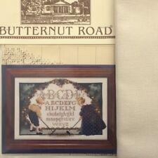 Butternut Road cross stitch chart Luga Marilyn Leavitt-Imblum Children's Garden