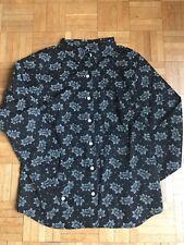 chemise Femme Agnès B Noir Taille 36 Neuf
