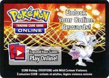 "1x Pokemon RESHIRAM EX ""2012 SPRING COLLECTOR'S TIN"" Code Card TCGO (Unused)"
