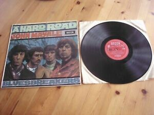 JOHN MAYALL AND THE BLUEBREAKERS  LP   A HARD ROAD  mono