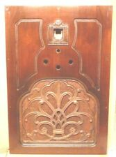 "vintage* 1930's WESTINGHOUSE / RCA RADIO part:  FRONT WOOD w/ GRILL  21 & 3/8"" h"