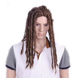 Reggae Long Full Wig Hair Dreadlocks Women and Men Dread Locs for Cosplay Party