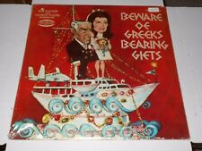"BOB BOOKER & GEORGE FOSTER - Beware of Greeks Bearing Gifts ""Sealed LP"" Musicor"
