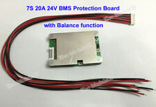 24V 25.2V 29.7V 7S 20A Lithium ion Li-ion LiPo Polymer Battery BMS PCB w/Balance