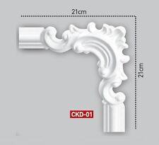 2 Set (8 Stück ) Rundbögen Wandleisten Zierprofile Styropor Stuck CKD01