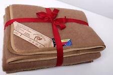 couvre-lit couverture plaid en tissé laine fabriqué en Allemagne 150X220CM