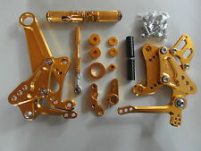 Ducati Diavel CNC Aluminium repose pied appendice rear set xp Gold