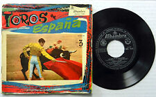 GRAN ORQUESTA DE BAILE 45 EP Toros en Espana ALHAMBRA Gatefold SPAIN PRESS #A879