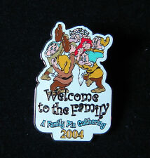 Seven Dwarfs A Family Pin Gathering Welcome to the Family Disney Pin Wdw Le
