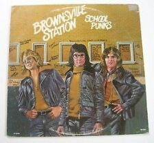 "BROWNSVILLE STATION ""School punks"" (Vinyle 33t / LP) 74"