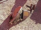 Farmall H M SH SM tractor ORIGINAL paint & decal IH Tool box front seat assembly
