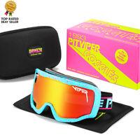 Winter Snow Sport Goggles Snowboard  Vip Ski Snowmobile Face Mask SunGlass