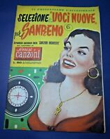 SELEZIONE DI VOCI NUOVE PER SANREMO - SORRISI E CANZONI - ANNI '50