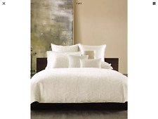 Hotel Collection Verve KING Duvet Cover Ivory