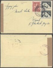 Croatia WWII - Cover to Zagreb - Censor D99