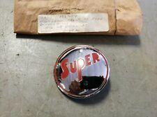 NOS Emblem for Front or Rear Bumper Guard 1946 1947 1948 Buick Super Series 50