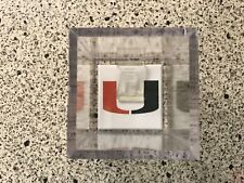 Miami Hurricanes NCAA National Champions Alumni Ring Custom Display Case The U
