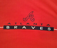 Atlanta Braves T Shirt XL X-Large Logo MLB Antigua EUC Baseball INV223