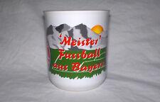 FC Bayern München Tasse Meister Fußball aus Bayern Fußball NEU,Lizenz,Rarität