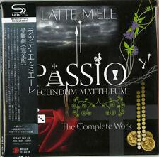 LATTE E MIELE, PASSIO SECUNDUM MATTHAEUM, SHM-CD, JAPAN 2014, BELLE 142238 (NEW)