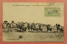 1914 FRENCH WEST AFRICA SENEGAL POSTCARD SAINT LOUIS TO SYRIA 161311