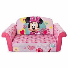 Marshmallow Children's Furniture - 2 in 1 Flip Open Sofa - Disney's Minnie Mouse