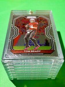 Tom Brady PANINI PRIZM HOT NEW TAMPA BAY FOOTBALL CARD INVESTMENT - Mint!