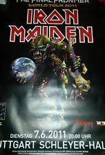 Iron Maiden 2011 119cm A0 Stuttgart/Ob. Tour Konzert Plakat Concert Large Poster