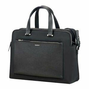 "Samsonite Zalia Bailhandle Tote Laptop Tablet Bag 14""- Black New"