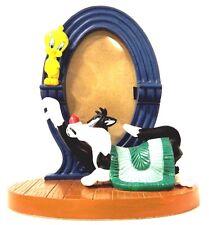 Tweety Bird Sylvester Cat Picture Frame Warner Brothers Studio 1996 Looney Tunes