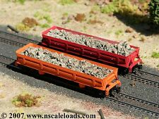 Hay Brothers LARGE STONE LOAD - fits Walthers N-Scale DIFCO Side-Dump Cars