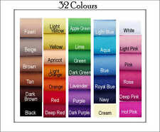 ECO Friendly FELT 32 Colours 32 squares 30cm x 25cm - BBDesigns
