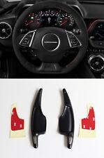 Pinalloy Black Metal Paddle Shifter Extension for Chevrolet Camaro Corvette C7
