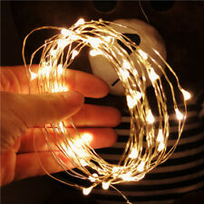 10m&100 LED Flexible Wasserdicht Lichterkette Innen Au�Ÿen Micro Kupfer Draht D6